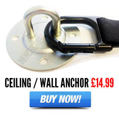 HENCHGRIPZ Wall / Ceiling Anchor For Suspension Trainer